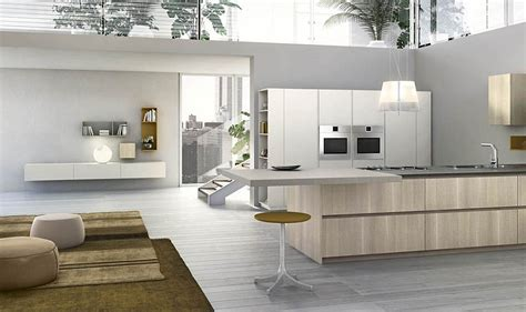 Modular Italian Kitchen With Streamlined Design And