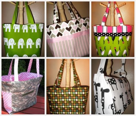 Handmade Baby Bags - bag tutorial pattern roundup handmade gifts for