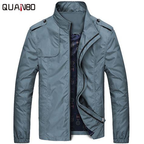 mens light jacket for fall aliexpress com buy quanbo spring thin fashion brand