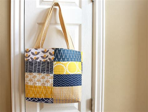Handmade Handbags Patterns Free - navy and gold handmade bag bag patterns giveaway diary