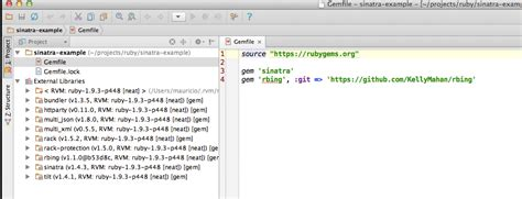 Ruby Rack Application Ruby How To Load Forked Github Repo As Gem In Sinatra