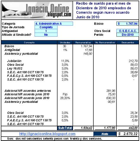 liquidacion de sueldo empleados de comercio 2016 search results for sueldos empleados de comercio 2016