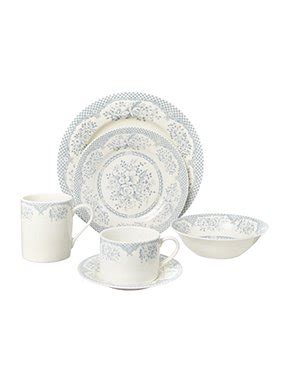 shabby chic kew blue dinnerware range house of fraser