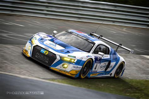 Phoenix Audi vln phoenix racing bestreitet s 228 mtliche l 228 ufe mit audi r8