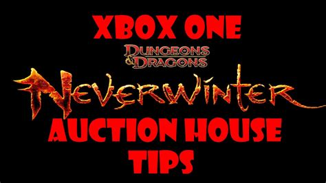 neverwinter auction house neverwinter xbox one auction house tips doovi