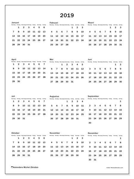 kalender  mz michel zbinden nl