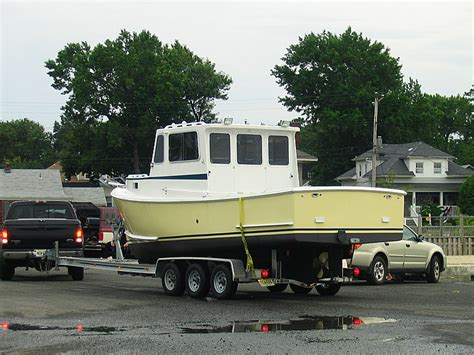 bhm boats maine sold 25 seaworthy bhm maine downeaster the hull
