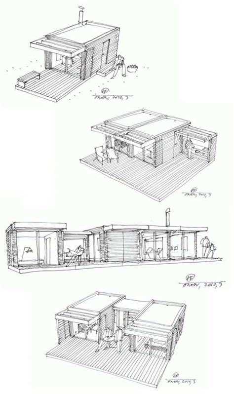 small prefab mini house one prefab cabins