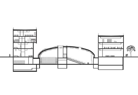 Hospital Sections by Gallery Of Knowledge Center At St Olavs Hospital Ratio