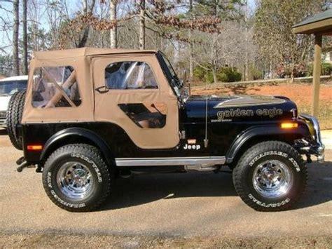 jeep eagle for sale golden eagle edition 1978 jeep cj5 v8 bring a trailer