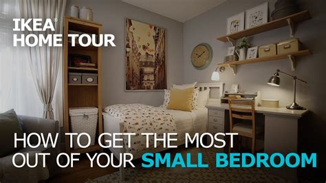 bedroom solutions small bedroom storage solutions ikea home tour youtube
