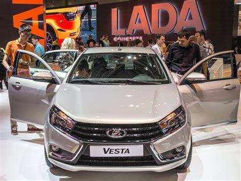 Lada Car Company Russia S Autovaz Starts Lada Vesta Sales In Germany