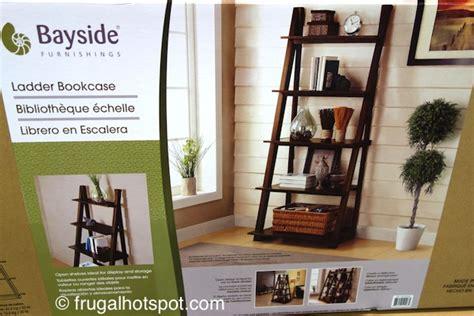 costco bayside furnishings ladder bookcase 139 99