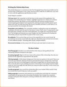 Sample Scholarship Essay 8 Scholarship Essay Examples Scholarship Letters