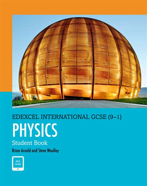 edexcel international gcse 9 1 physics student book print and ebook bundlebrian arnold the