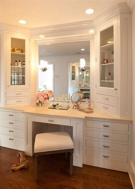 bathrooms with makeup vanity area best 25 bathroom makeup vanities ideas on pinterest