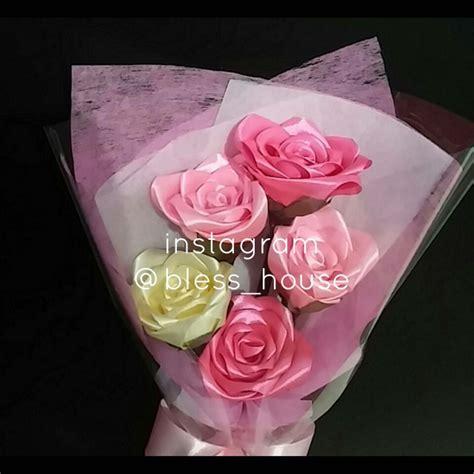 Mawar Satin Cm jual buket bunga mawar satin mix pink buket mawar