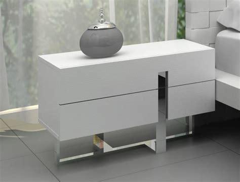 Modern Table Ls For Bedroom by Modrest Voco Modern White Bedroom Nightstand