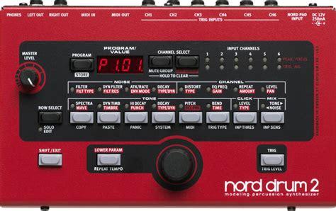 tutorial virtual drum electro pro nord drum module virtual analog syth 2 long mcquade