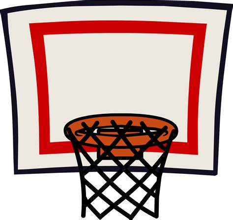 basketball clip basket clipart basketball hoop pencil and in color