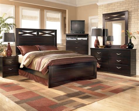panel bedroom sets ashley x cess panel bedroom set b117 57 54 96 bedroom