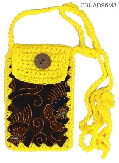 Dompet Hp Rajut 1 dompet hp rajut batik dompet batik murah batikunik
