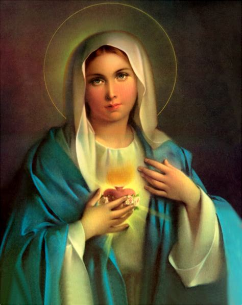 immaculate heart of mary the small town catholic the immaculate heart of mary