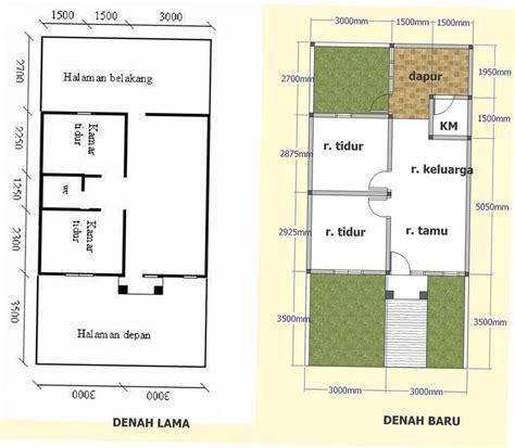model desain denah rumah minimalis sederhana type 36 contoh desain rumah type 36 72 denah untuk tanah 90 m2