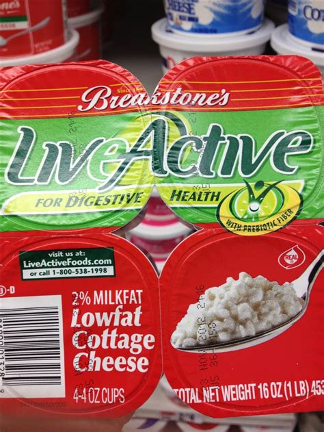 Does Cottage Cheese Probiotics In It by Cottage Cheese With Probiotics Evolution Approved Foods