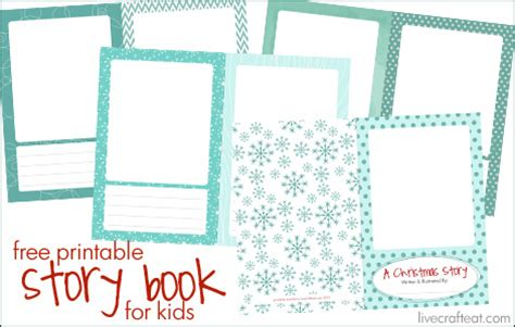 activity for printable story book live