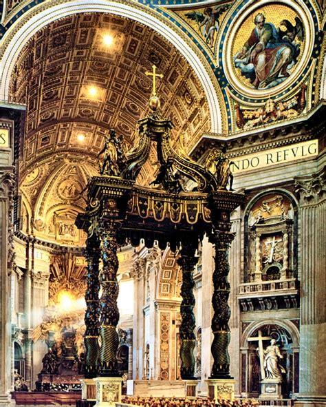 baldacchino by bernini altares capillas iglesias a collection of other ideas