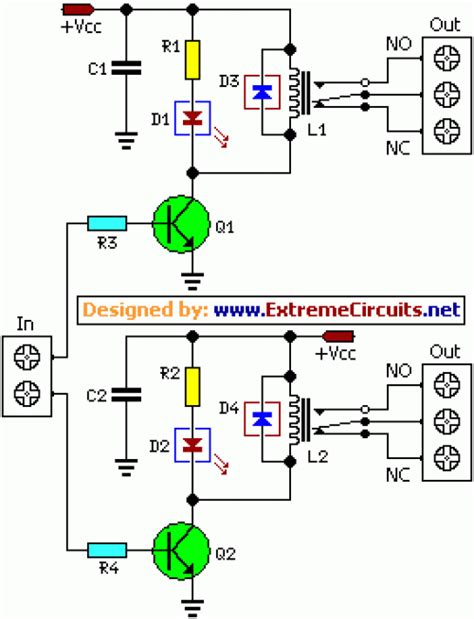 dual relay driver board circuit schematic eeweb community