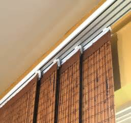 Bamboo Vertical Blinds Patio Doors by Sliding Window Panels Curtains Images