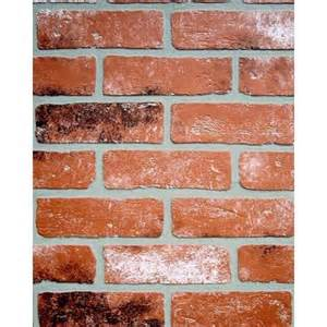 paneling home depot 1 4 in x 48 in x 96 in kingston brick wall panel 278844