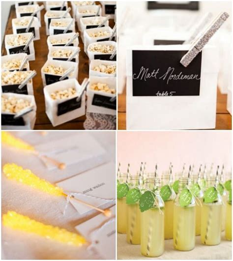 7 escort place cards ideas food drink cocktail