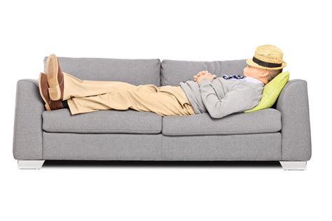 sleep on the sofa do men not suffer from sleep problems or do they simply