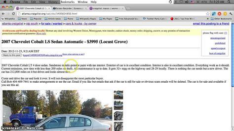Craigslist Okaloosa Furniture by Craigslist Used Cars For Sale In Indianapolis