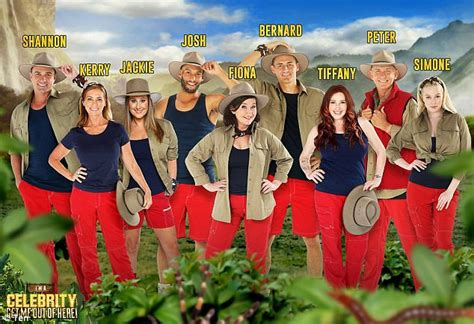 celebrity jungle who is out i m a celebrity get me out of here cast revealed daily