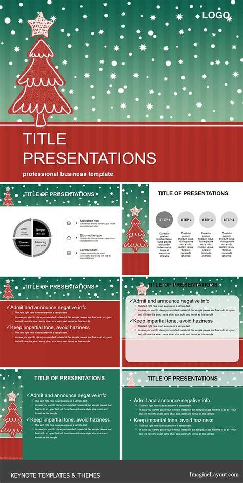 keynote themes christmas christmas tree for the holidays keynote themes
