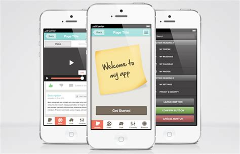 ui themes for iphone flat iphone app ui theme medialoot