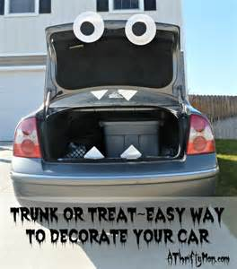 trunk or treat easy way to decorate your car