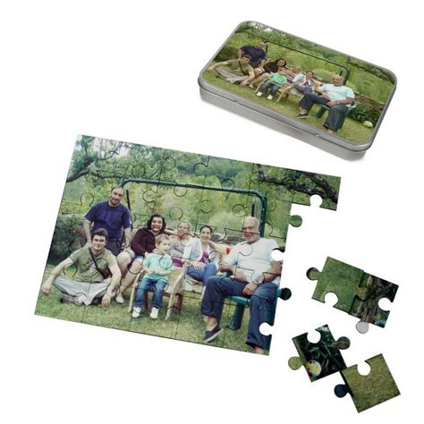 custom photo puzzle custom photo jigsaw puzzles by bags of love