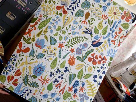 scandinavian wallpaper esdesign wallpaper wednesday scandinavian floral for