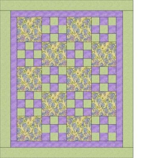 Quilt Pattern With Three Fabrics | 1000 images about 3 yard quilts on pinterest quilt