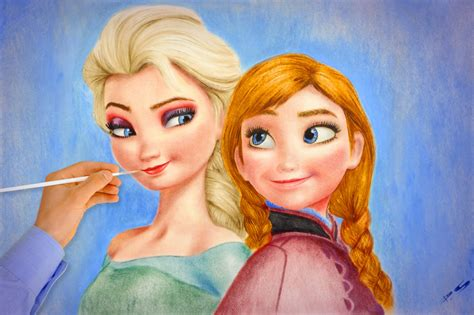 anna und elsa film you tube frozen elsa anna amazing how to draw walt disney