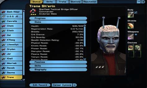 Aoda Sto 75 Modify captain s log a trek player uses math