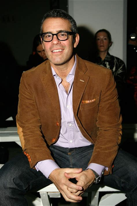 Isaac Cohen Is New Boyfriend by Andy Cohen Pictures Isaac Mizrahi Front Row
