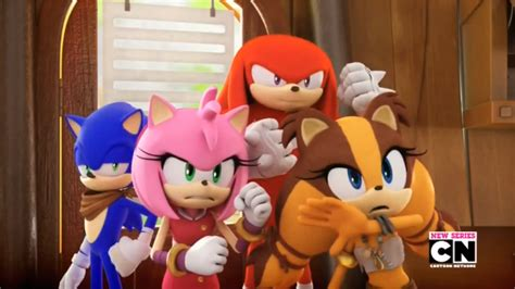 dream boat tv show sonic boom tv series sonic knuckles amy sticks by