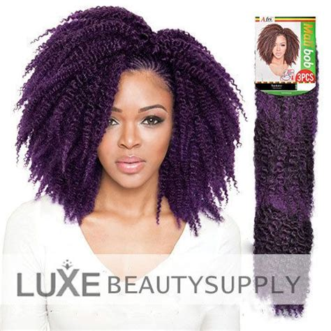human bob marley hair isis collection afri naptural mali bob 3pcs braiding twb08