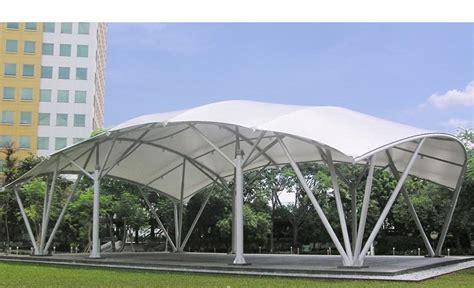Tenda Membrane Bahan Pylamin Coldura canopy kain jakarta tenda membrane kanopi kain
